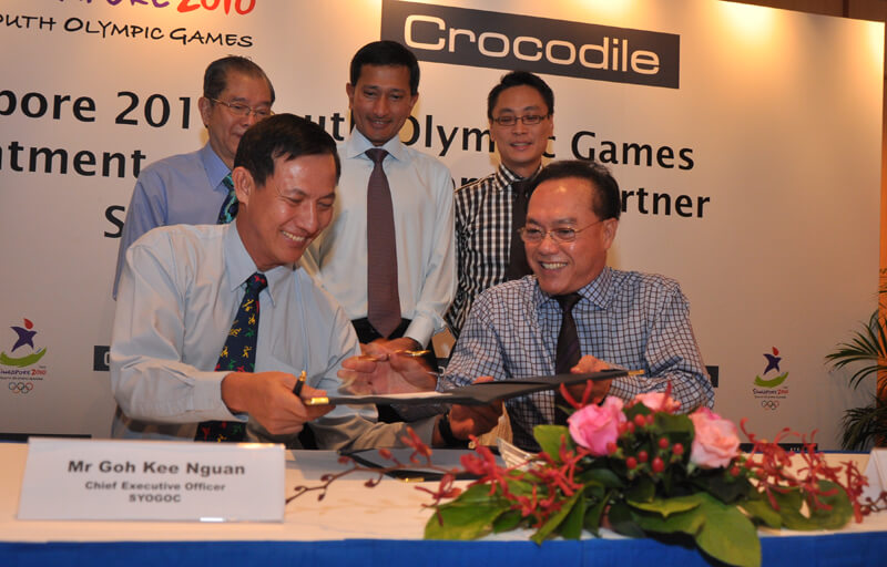 Crocodile as Official Apparel Partner of the inaugural Youth Olympic Games held in Singapore